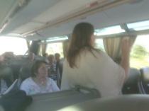 Oppvarming på bussen